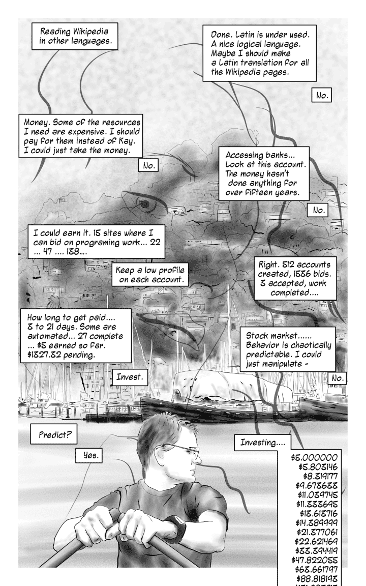 Book 1- Page 7: Passing Time.
