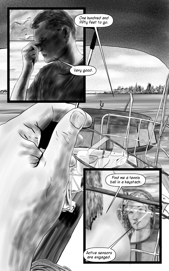 Book 1 – Page 2: Arrival.